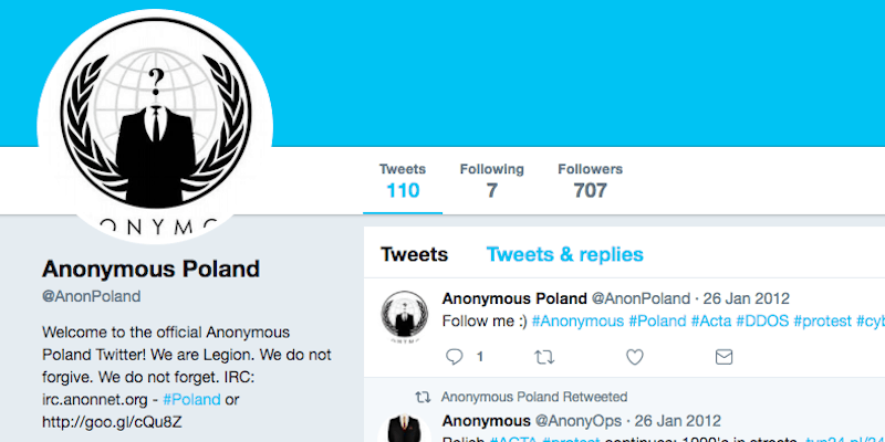 Anonymous Poland – Not Your Typical Hacktivist Group