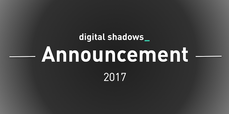 Digital Shadows Announcement