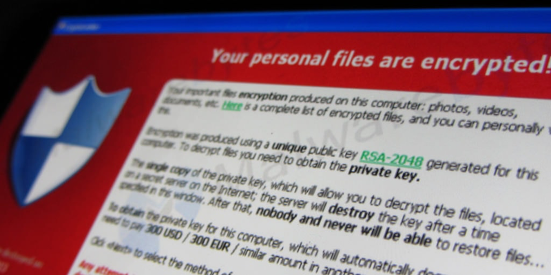 Encrypted Files WannaCry