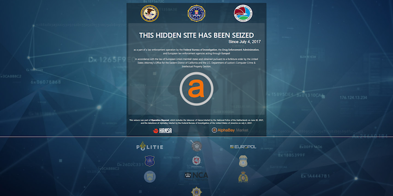 AlphaBay Hansa Seized