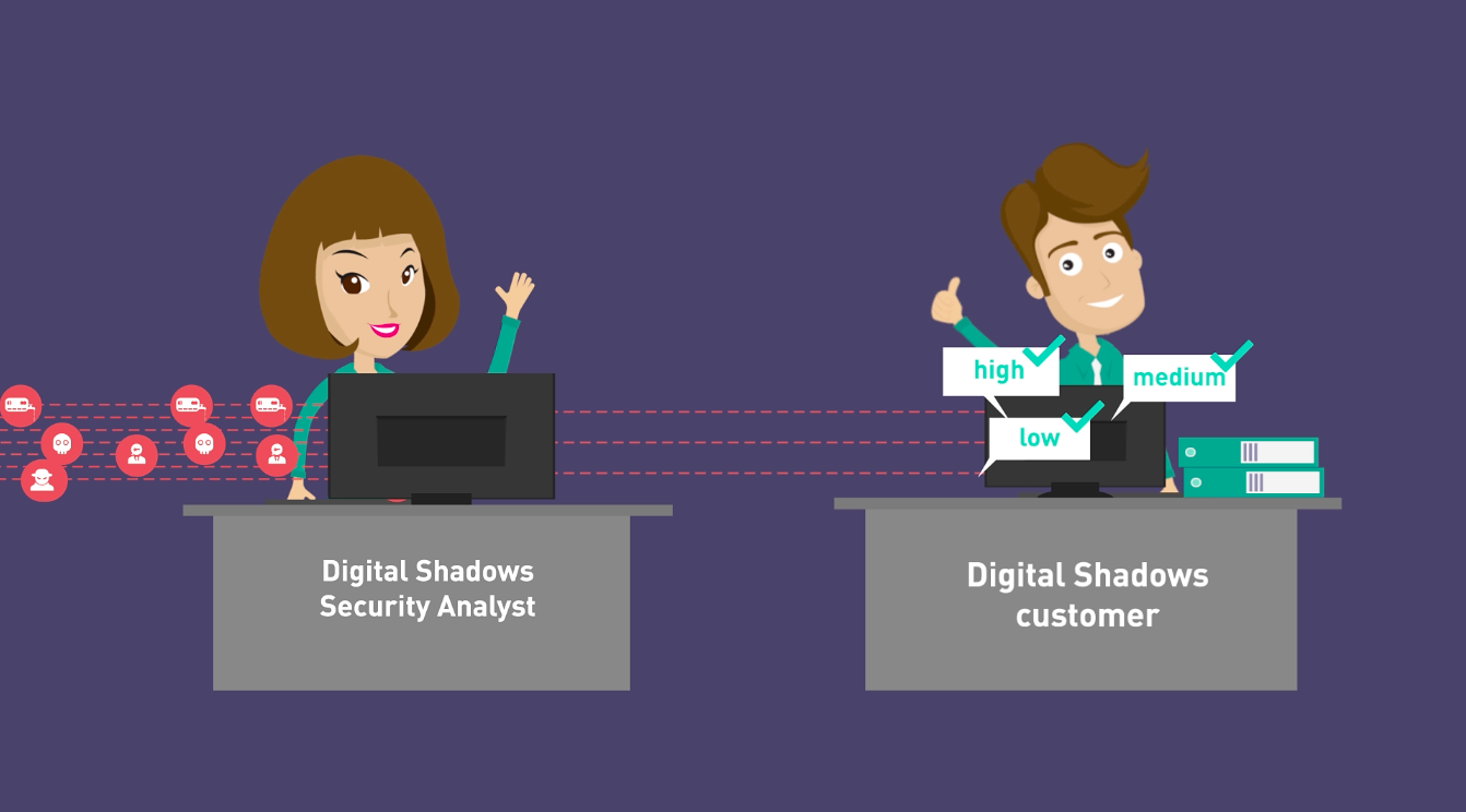 Digital Shadows Animated Explainer Video Image