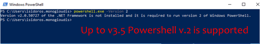 Remove Powershell v.2