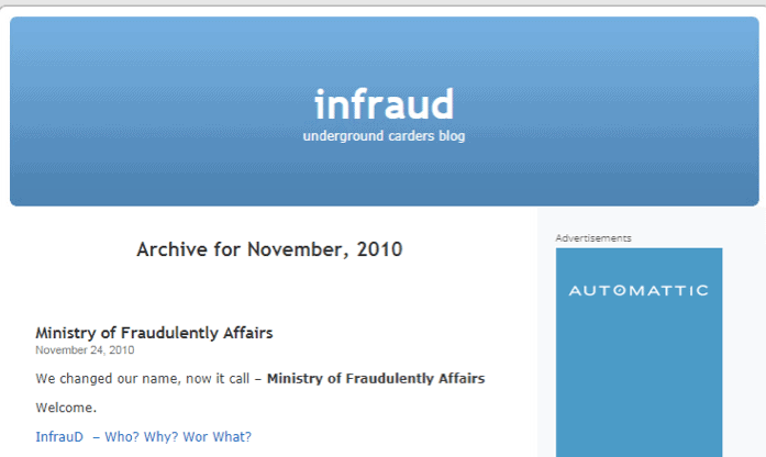 Infraud Forum Indictment and Arrests: What it Means
