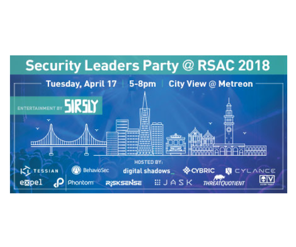 Security Leaders Party at RSA Conference