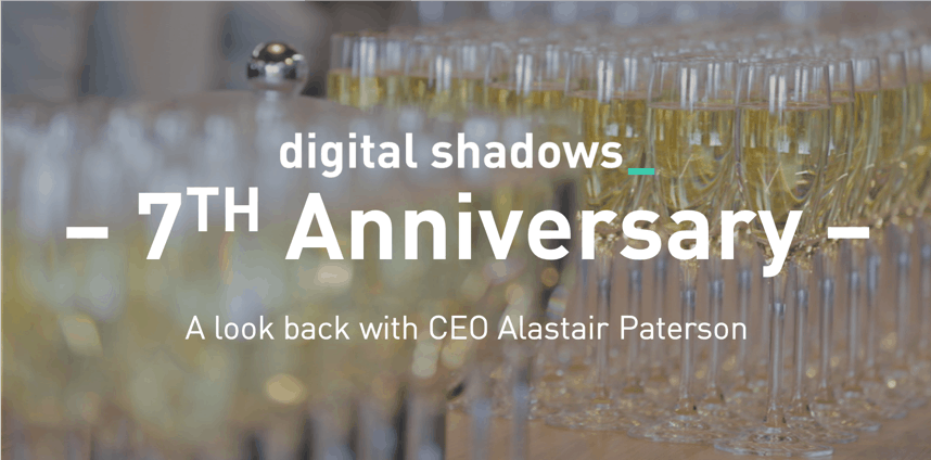 Digital Shadows 7th Anniversary – A Look Back