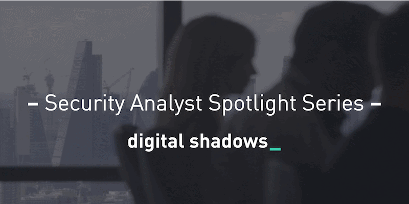Security Analyst Spotlight Series: Rafael Amado