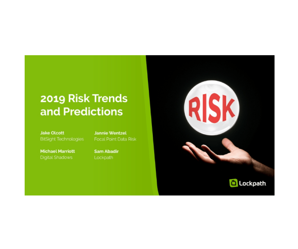 Live Webinar: 2019 Risk Trends and Predictions