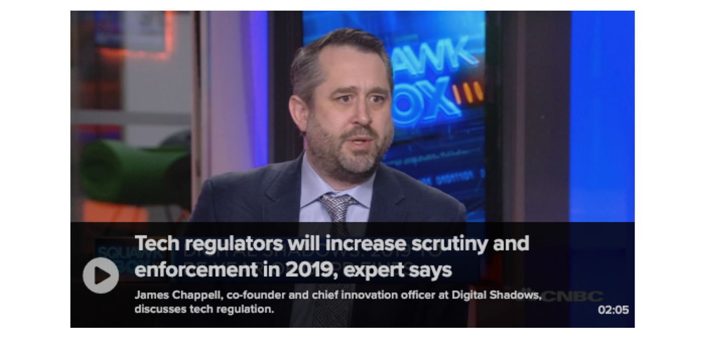 CNBC: Tech regulators will increase scrutiny and enforcement in 2019