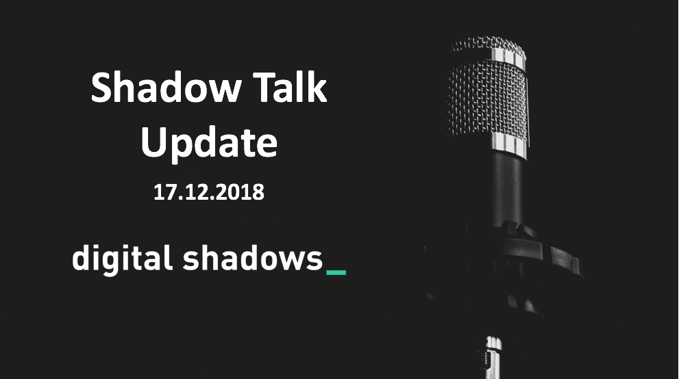 ShadowTalk Update – 17.10.2018