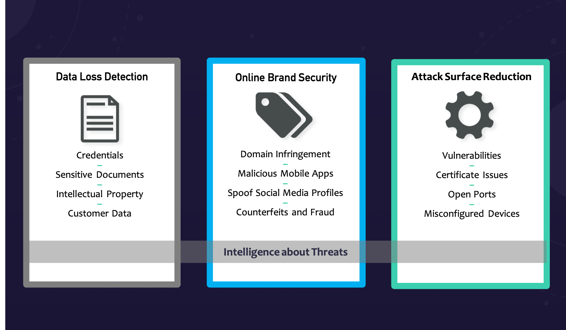 Digital Risk Protection pillars