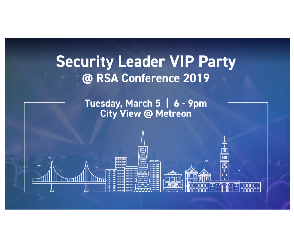 Security Leader VIP Party at RSA Conference