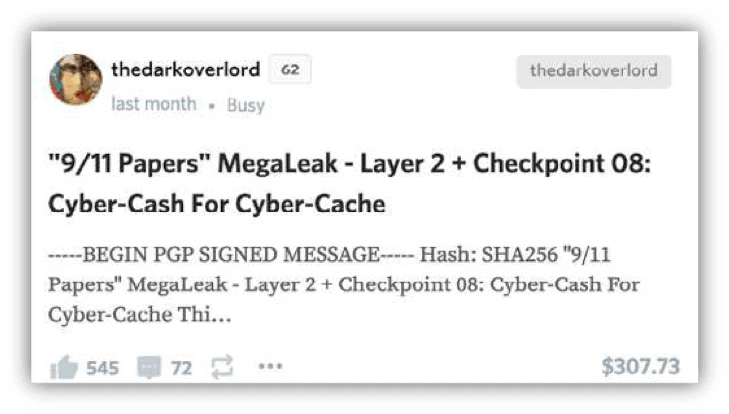 thedarkoverlord advertising extortion