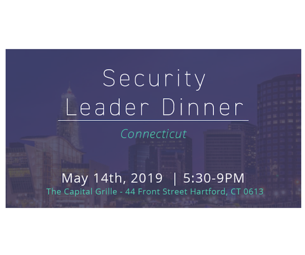 Security Leader Dinner – Connecticut