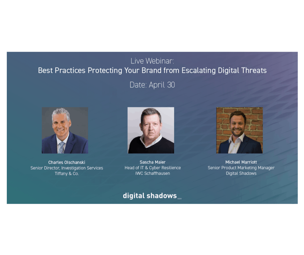 Live Webinar: Best Practices Protecting Your Brand Online