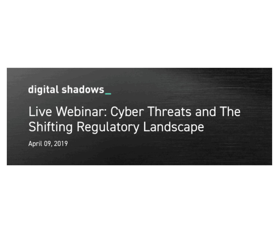 Recorded Webinar: Cyber Risk and the Shifting Regulatory Landscape
