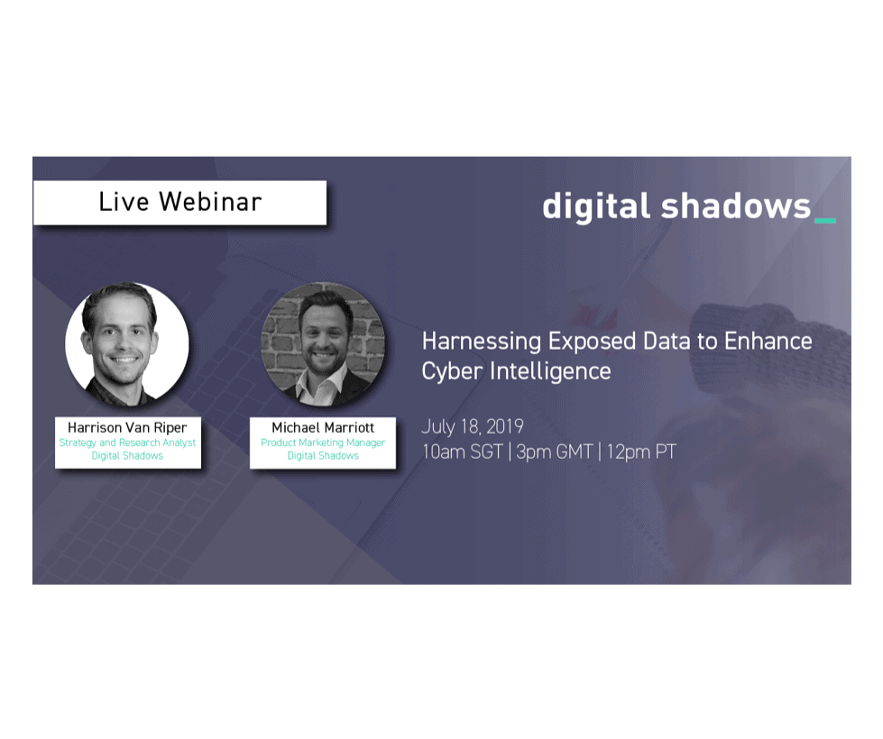 Live Webinar: Harnessing Exposed Data to Enhance Cyber Intelligence