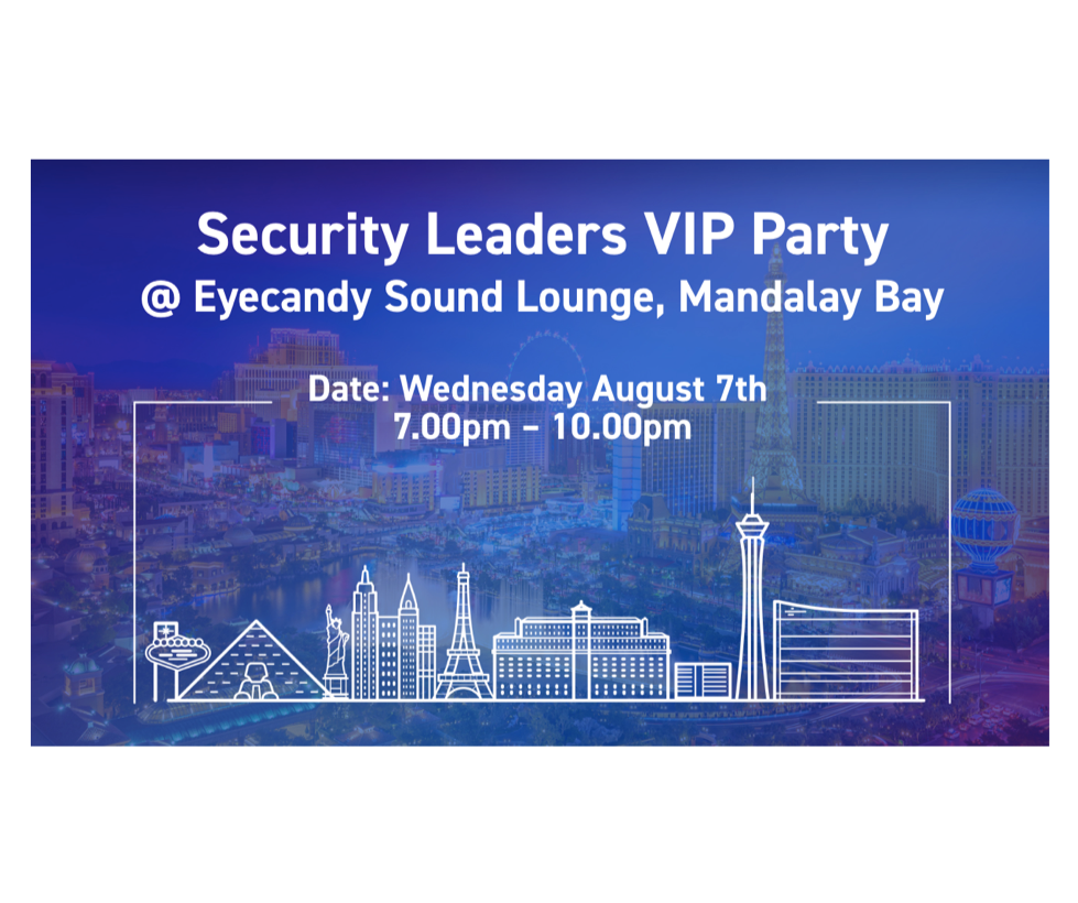 Security Leaders VIP Party @ Black Hat USA 2019