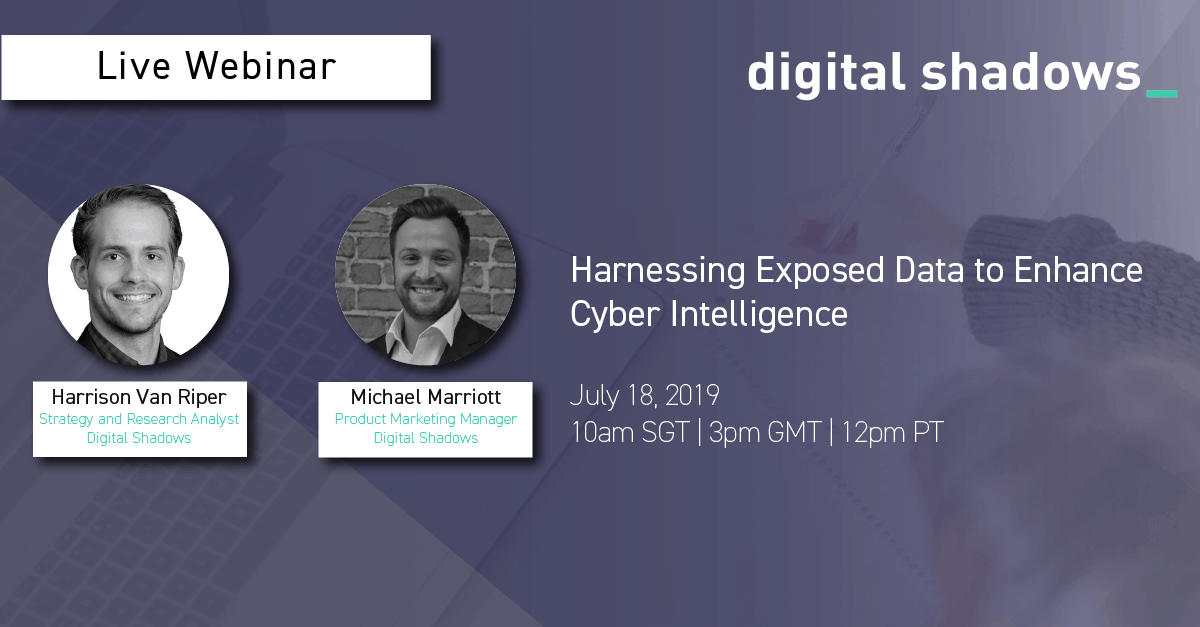 Harnessing Exposed Data Webinar