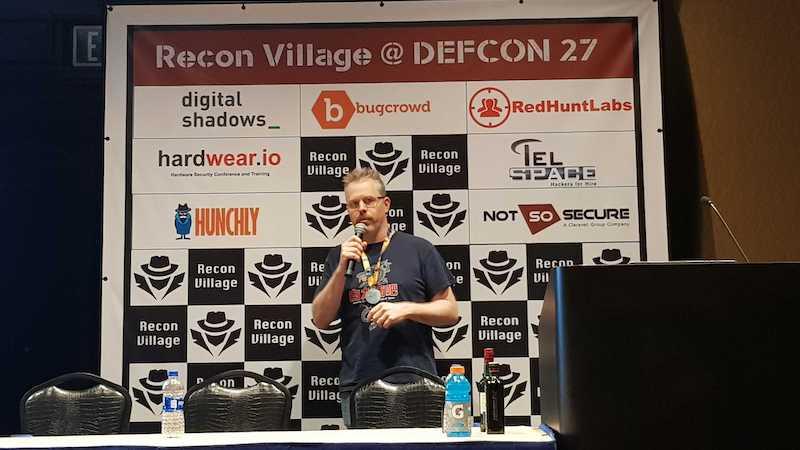 Richard Gold at DEFCON