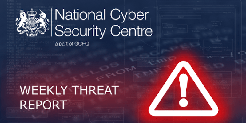 NCSC Cyber Threat Trends Report: Analysis of Attacks Across UK Industries