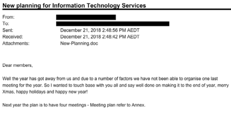 ANU Breach Report: Mapping to Mitre ATT&CK Framework