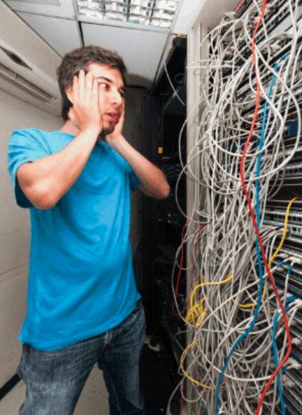 cabling nightmare