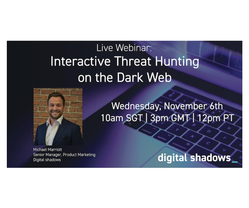 Interactive Threat Hunting on the Dark Web: Live Webinar Workshop