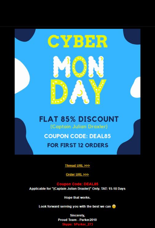 blackhatworld cyber monday advertisement