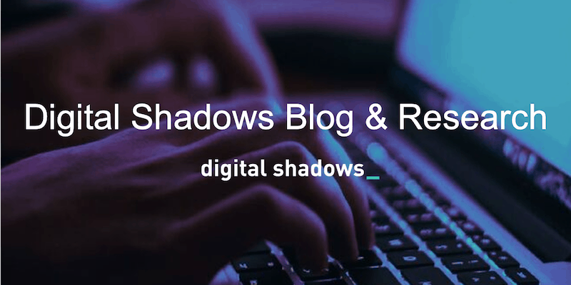 Top Security Blogs of 2019 from Digital Shadows