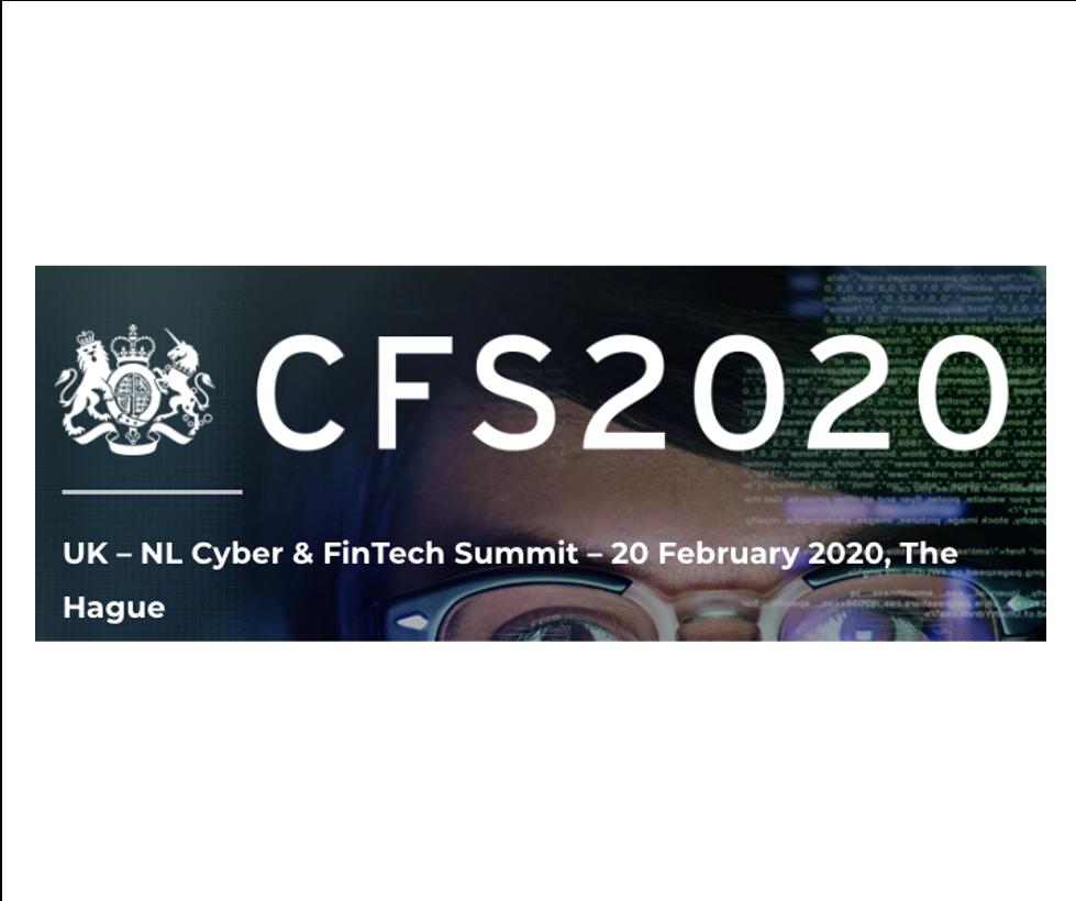 UK-NL Cyber & FinTech Summit