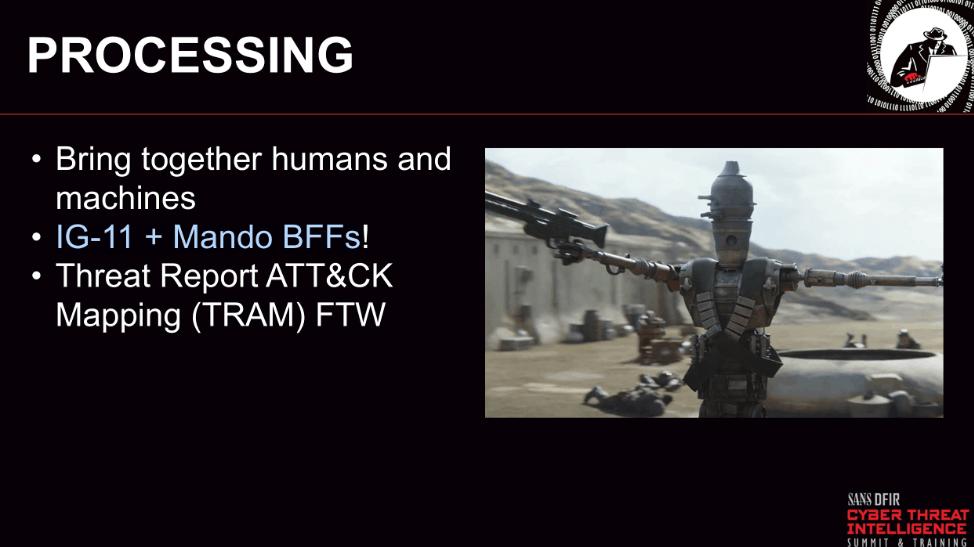 CTI Summit Processing