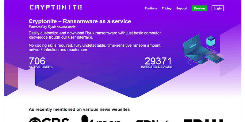 Cryptonite: Ransomware's answer to Superman…