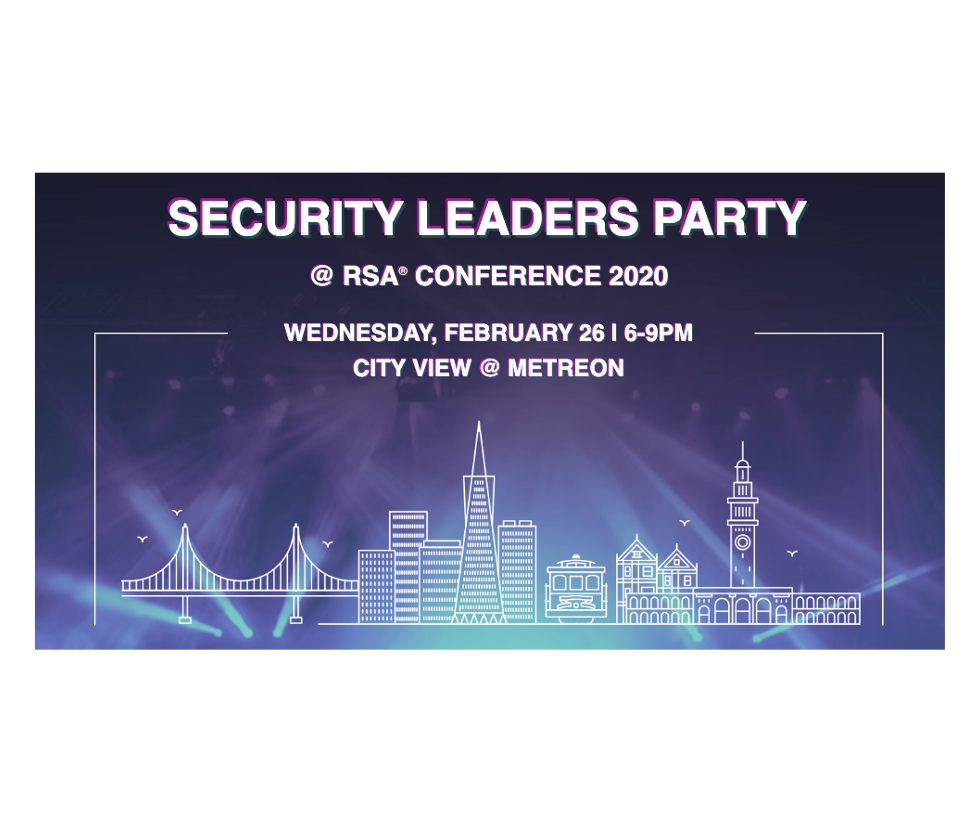 Security Leaders Party @ RSA Conference