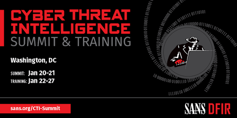 SANS Cyber Threat Intelligence Summit 2020: A Recap
