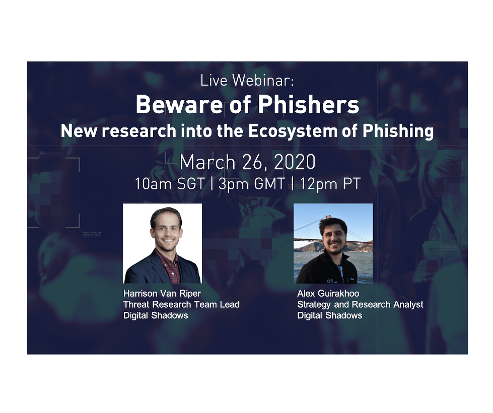 Recorded Webinar: Beware of Phishers: New Research into the Ecosystem of Phishing