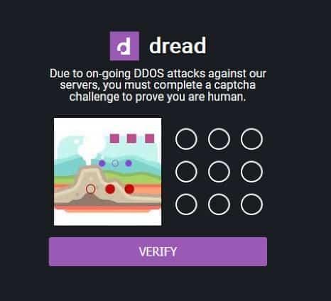 Dread prompting users dark web