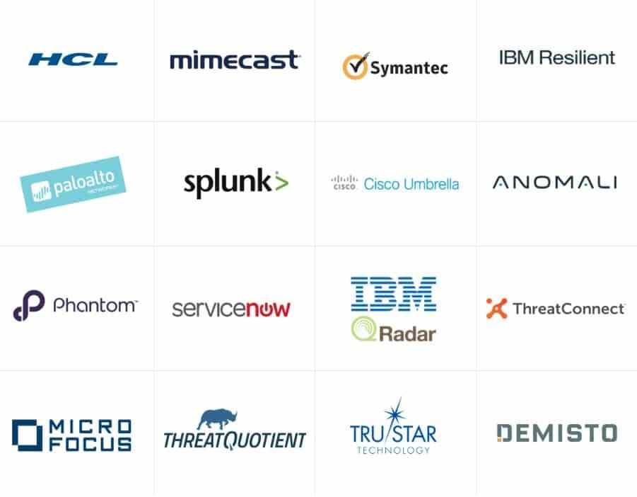 Technology partners digital shadows