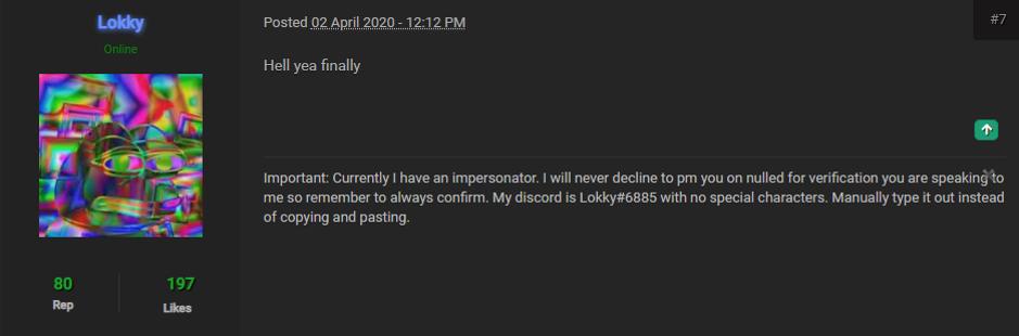 Forum responses