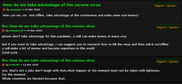 COVID-19 thread on Torum