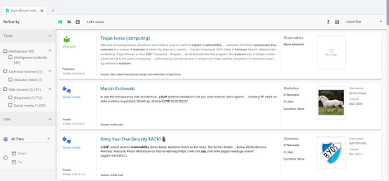 Security Threat Intel Products and Services: Mapping SearchLight