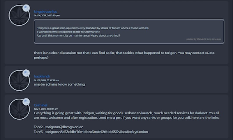Envoy users enquiring about the status of Torigon