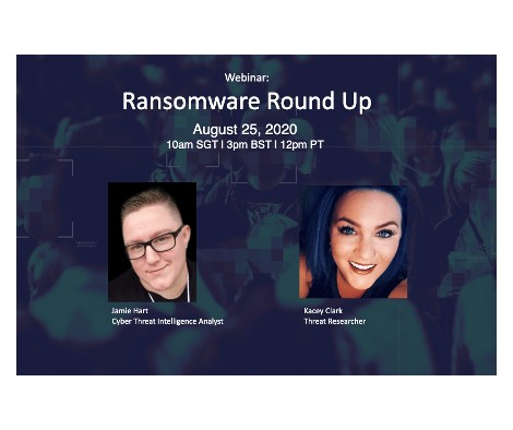 Recorded Webinar: Ransomware Round Up