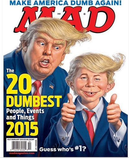 Negative Typosquat toward Donald Trump