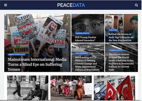 PeaceData Articles