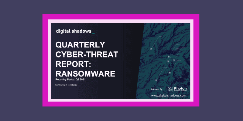 Q2 Ransomware Roll Up