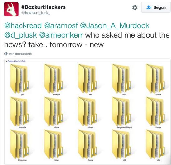 Bozkurt Hackers Folders