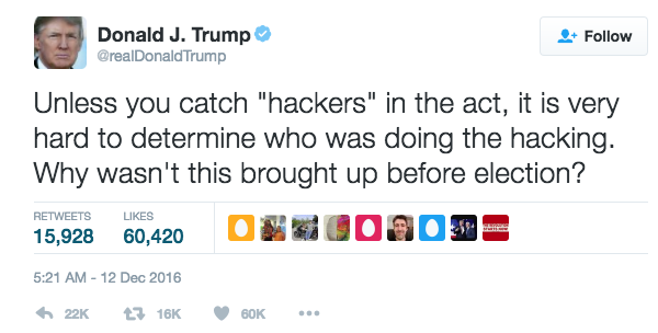Trump Hackers In The Act