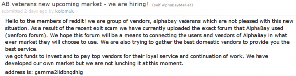 AlphaBay Disappears: 3 Scenarios to Look For | Digital Shadows