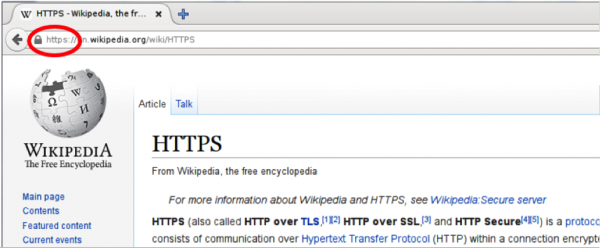 Safe browsing https