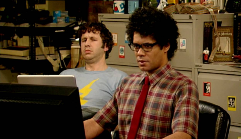 Women in security IT Crowd